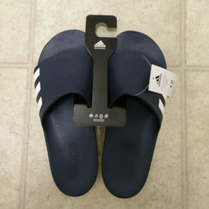 best service f6f9d 536a1 Adidas Shoes - Adidas Aqualette CF Sandal, Blue SIZE 13 ONLY